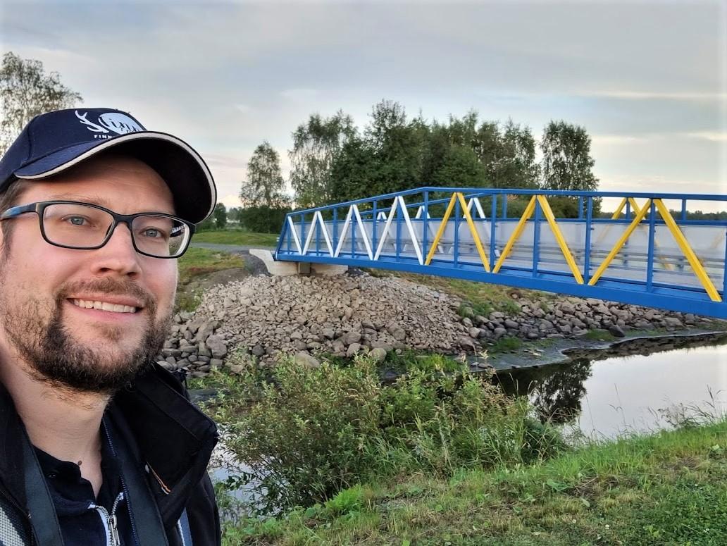 Brücke zwischen Haparanda und Tornio