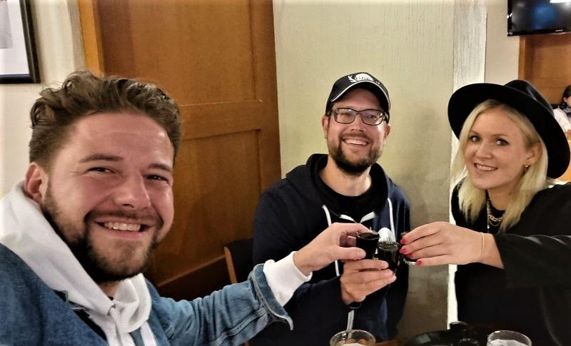 Treffen der Halbfinnen in Helsinki