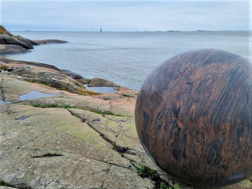 Helsinki Biennale auf der Insel Vallisaari