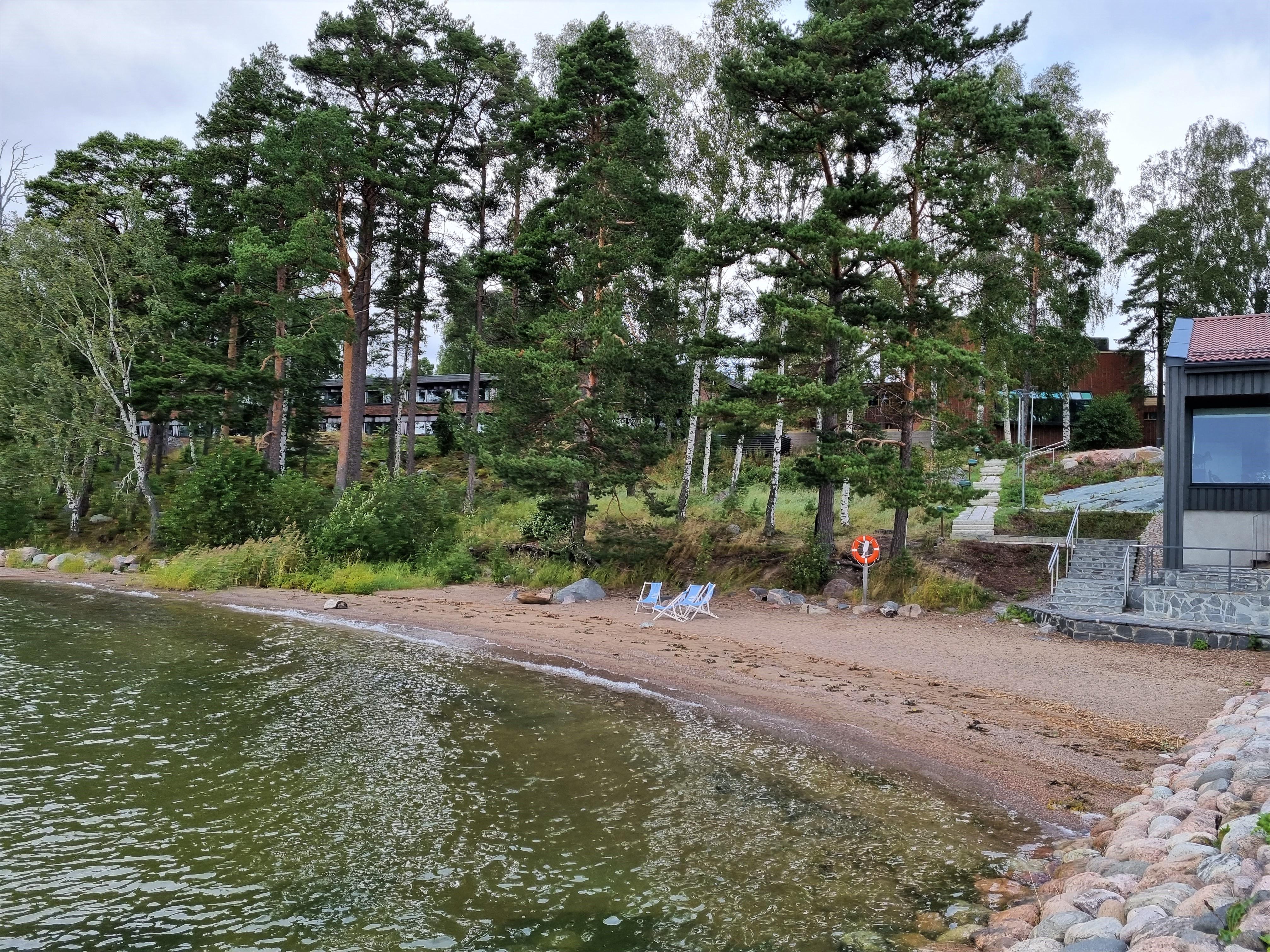 Strand am Hotel Rantapuisto Helsinki
