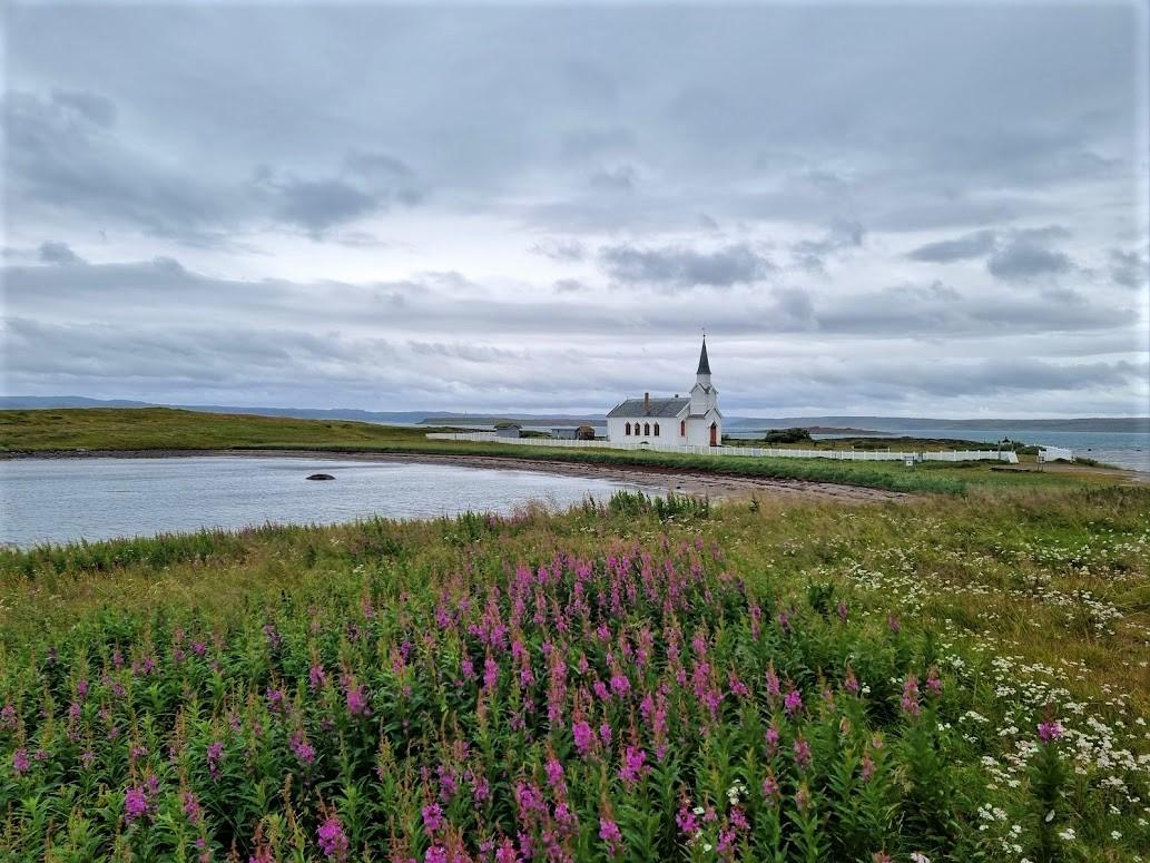 Kirche am Eismeer in Nordnorwegen