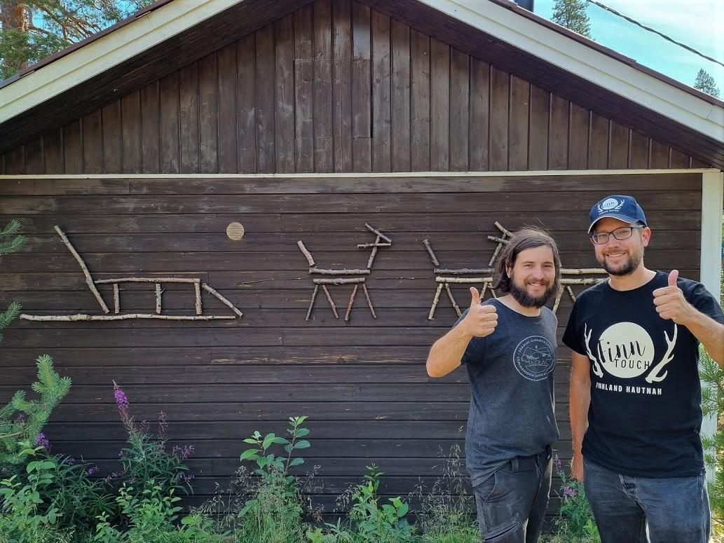 Markus von NomadicNaali und René von FinnTouch