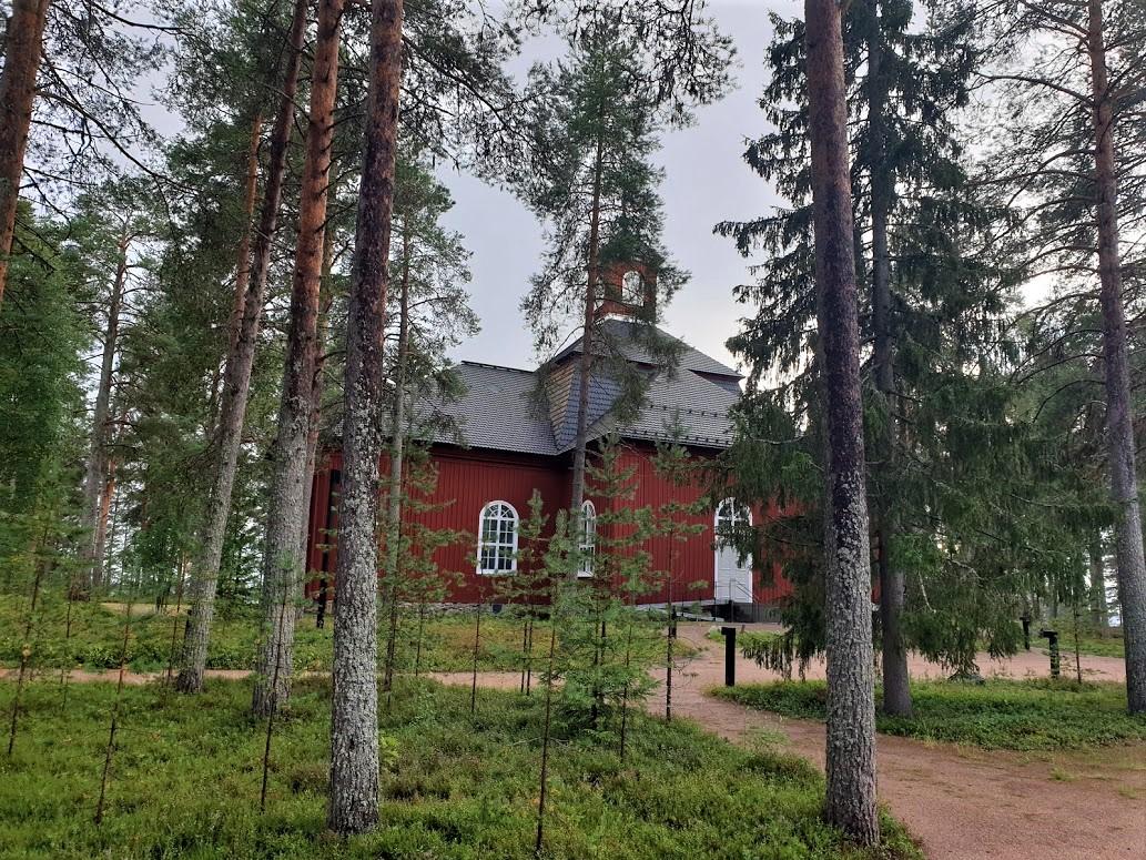 Kirche von Pudasjärvi