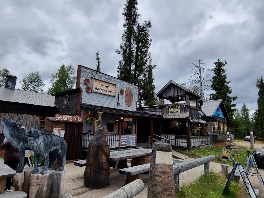 Tankavaara Gold Village