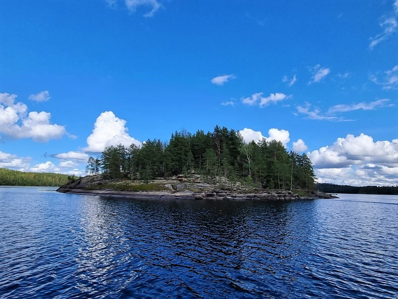 Insel der Tenturi Lodge