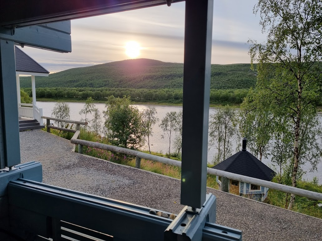 Mökki bei Aurora Holidays, Utsjoki