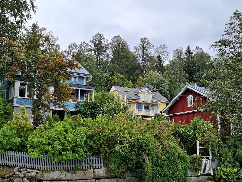 Holzhäuser in Lahti