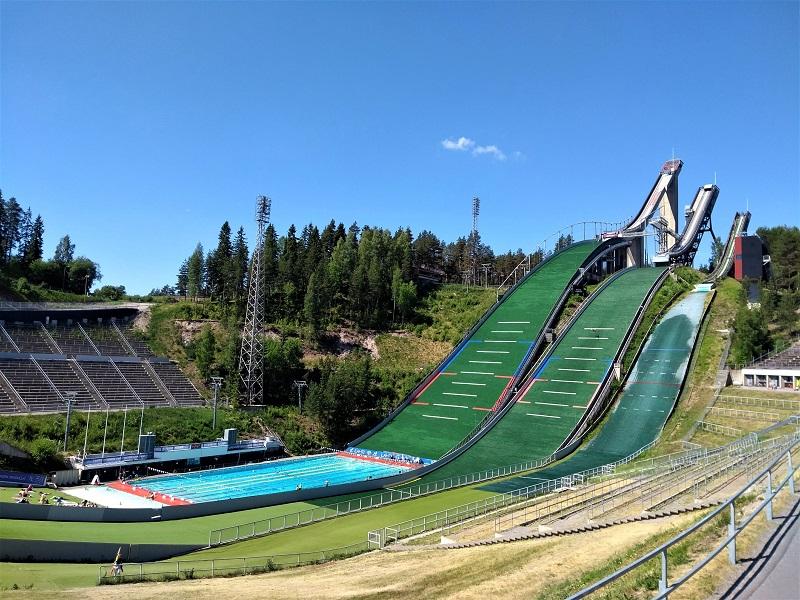 Die Skisprungschanzen von Lahti