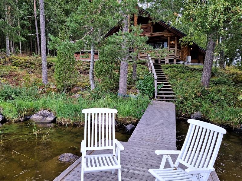 Mökki im Lehmonkärki Resort, Asikkala