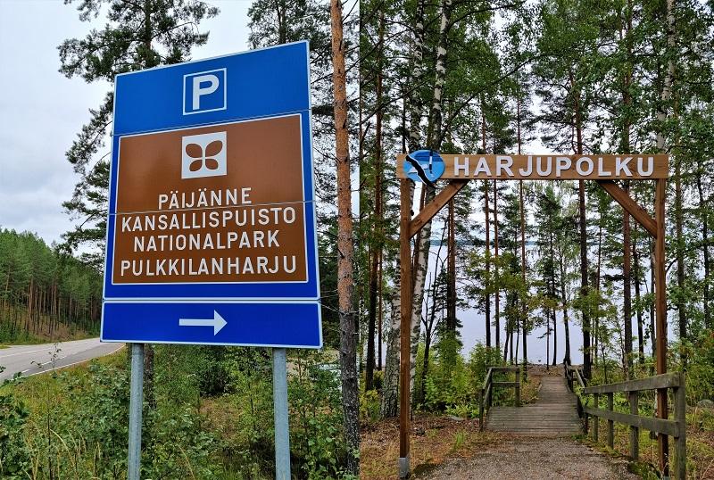 Pulkkilanharju im Päijänne Nationalpark